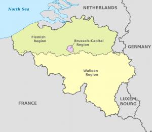 Aministrative divisions of Belgium