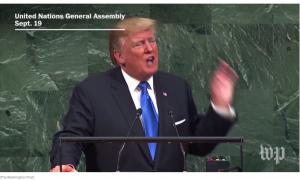 Trump; UN